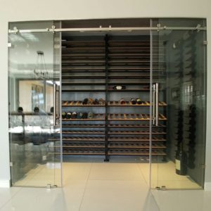 Frameless Wine Cellars & Winerooms
